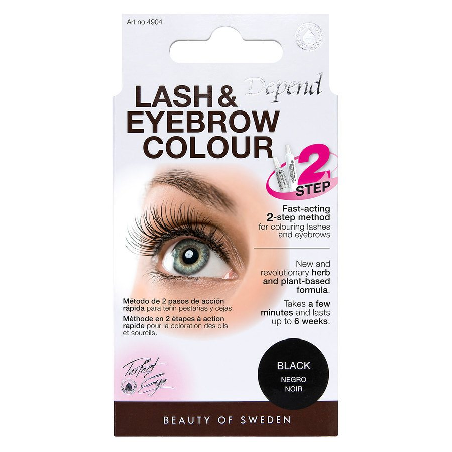 Depend Lash And Eyebrow Colour, Black