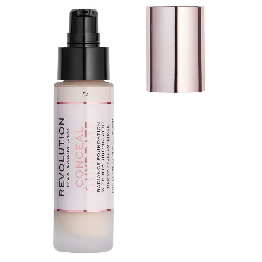 Makeup Revolution Conceal & Hydrate Foundation (23 ml), F2