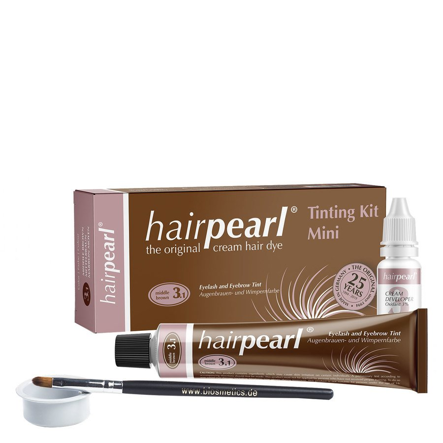 Hairpearl Tinting Kit Middle Brown