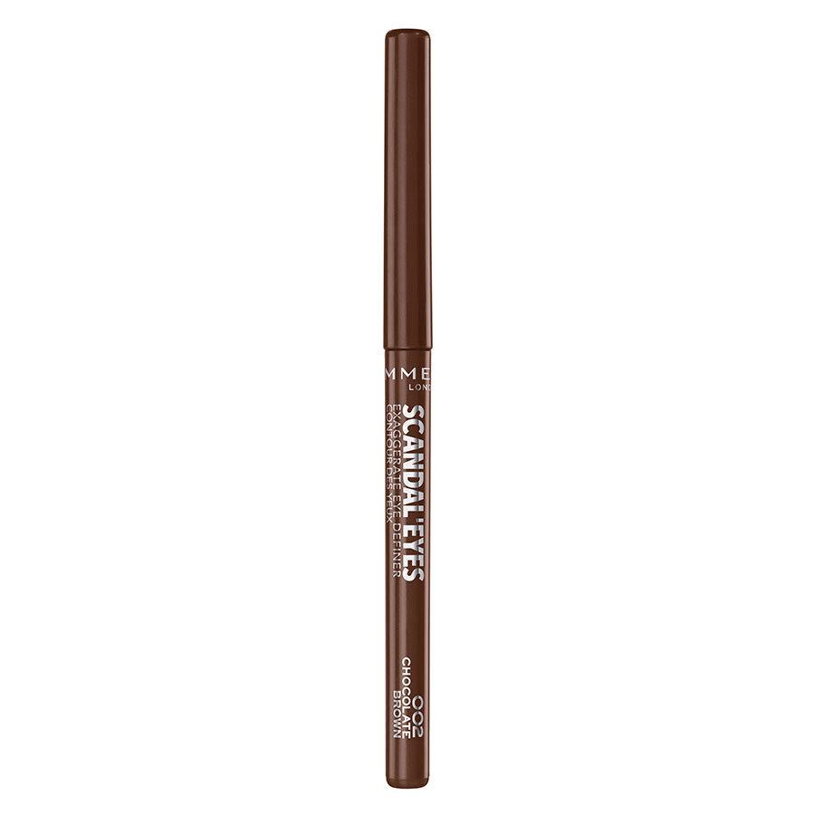 Rimmel London Scandaleyes Exaggerate Eye Definer 002 Chocolate Brown 0,35 g