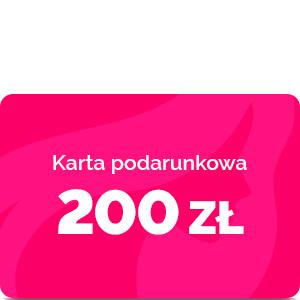 Bon podarunkowy – 200 zł