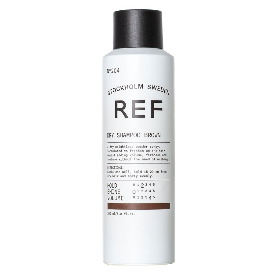 REF Suchy szampon, brązowy (220 ml)