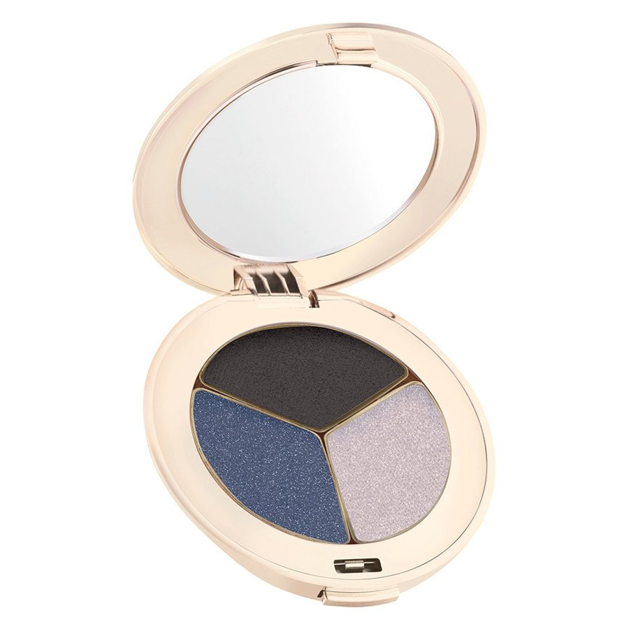 Jane Iredale PurePressed Triple Eye Shadow 2,8g, Blue Hour