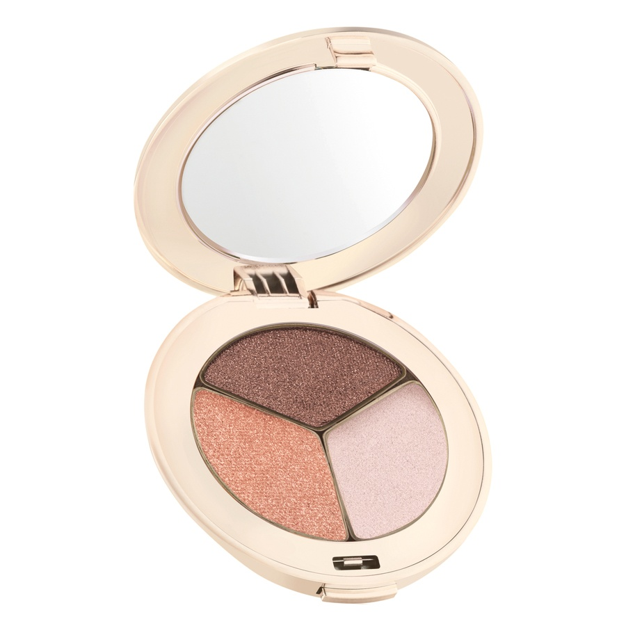 Jane Iredale PurePressed Triple Eye Shadow Triple Pink Quartz (2,8g)