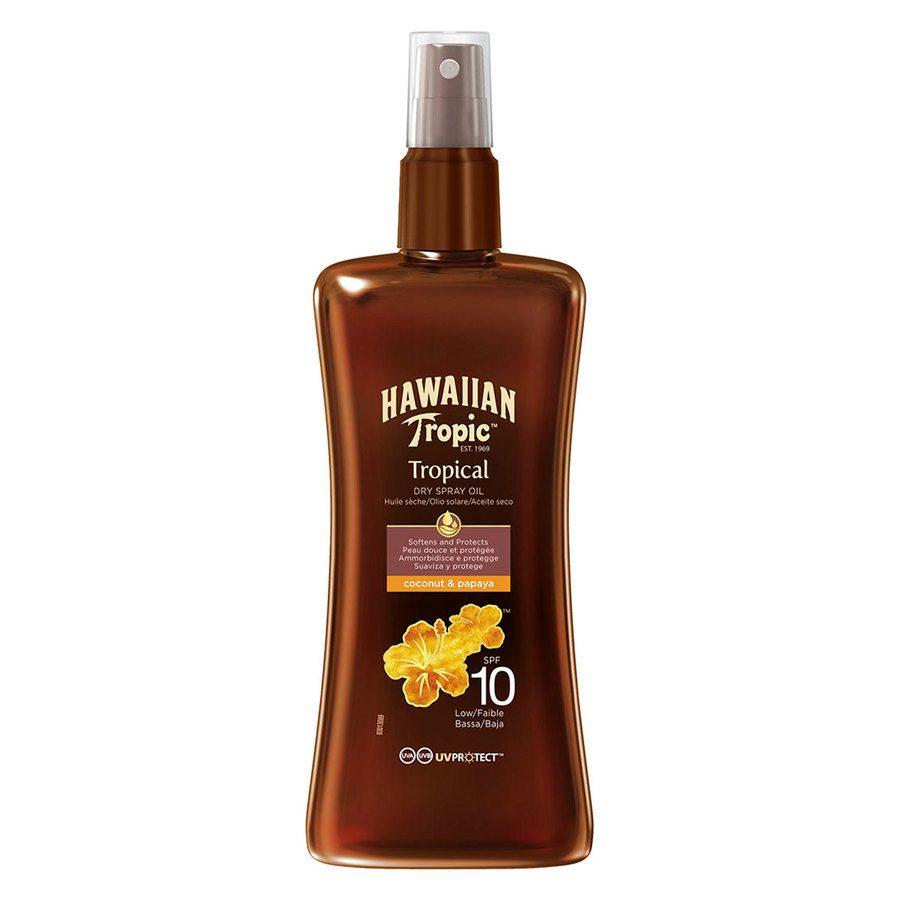Hawaiian Tropic Protective Dry Oil Spray SPF10 (200ml)