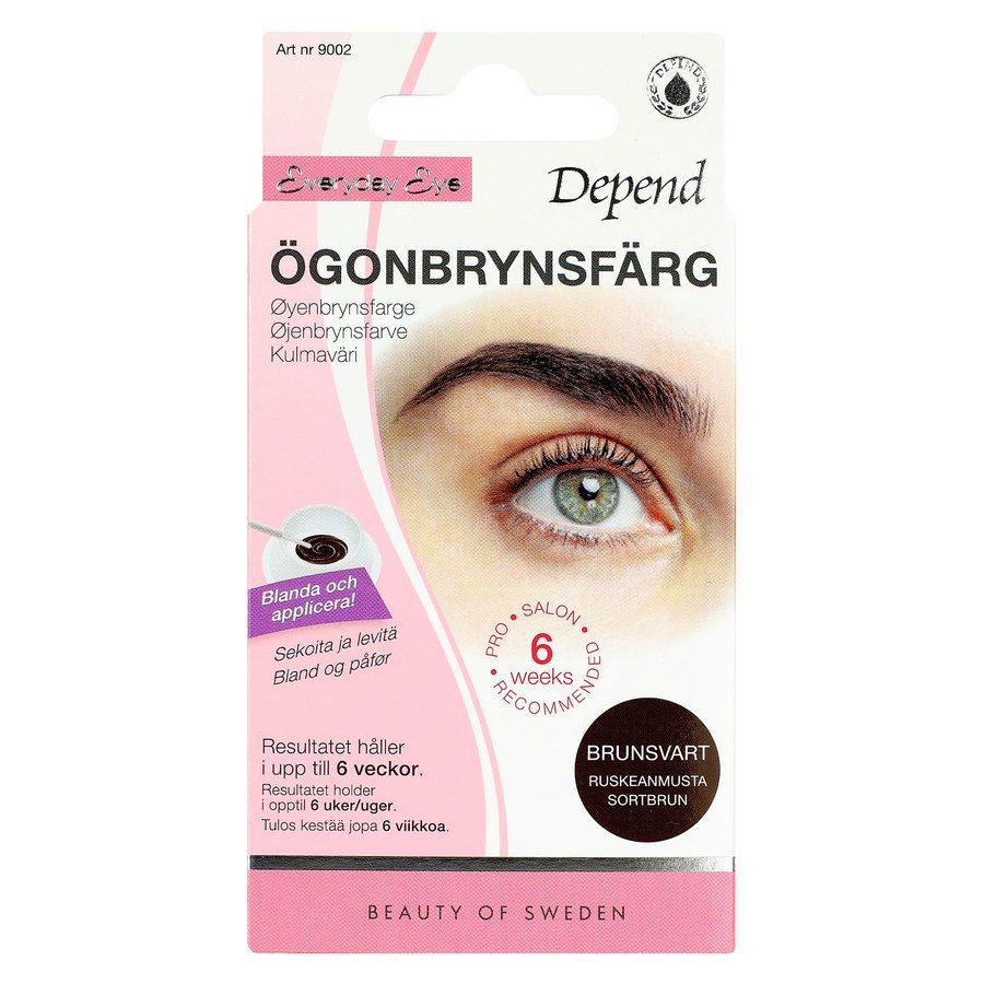 Depend Eyebrow Colour Kit, Brown-Black