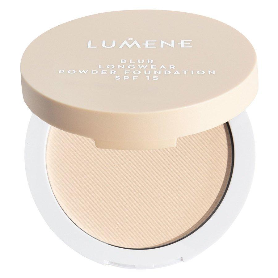 Lumene Blur Longwear Powder Foundation SPF15 Classic Beige 10 g