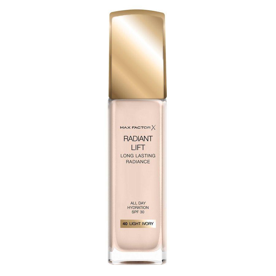 Max Factor Radiant Lift Foundation SPF30 30ml, #040 Light Ivory