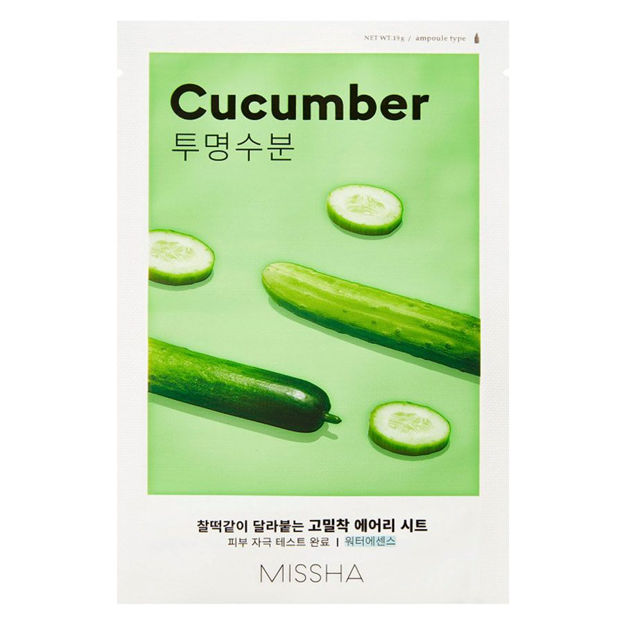 Missha Airy Fit Sheet Mask Cucumber (19 g)