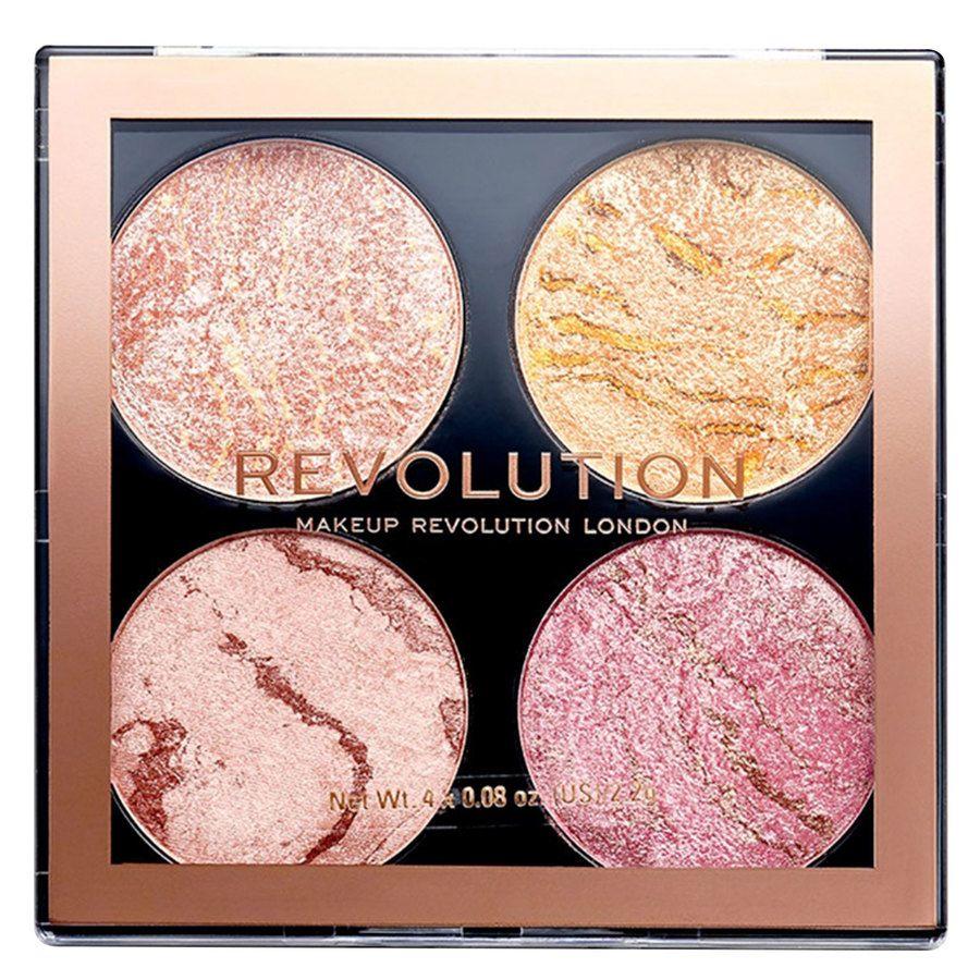 Makeup Revolution Cheek Kit Palette (8,8g), Fresh Perspective
