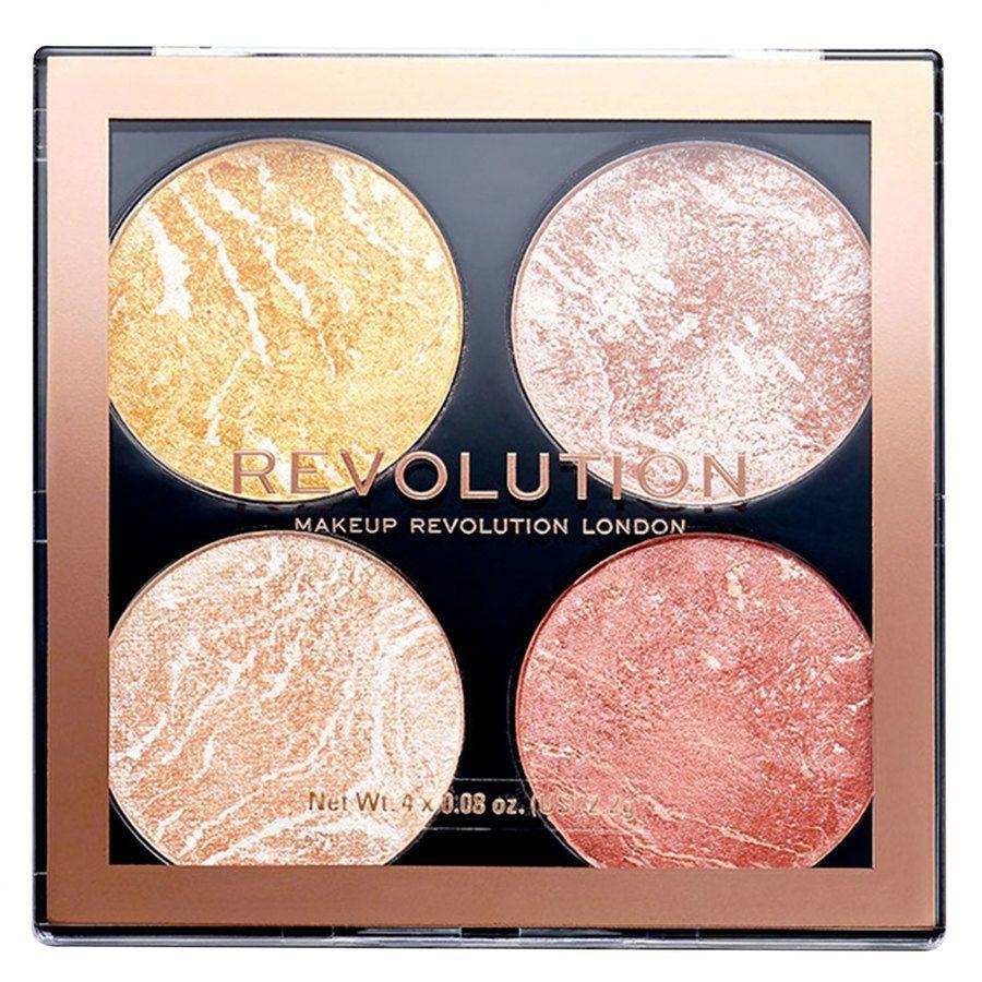 Makeup Revolution Cheek Kit Palette, Make It Expect (8,8g)