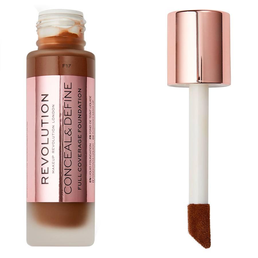 Makeup Revolution Conceal & Define Foundation, F17 (23ml)