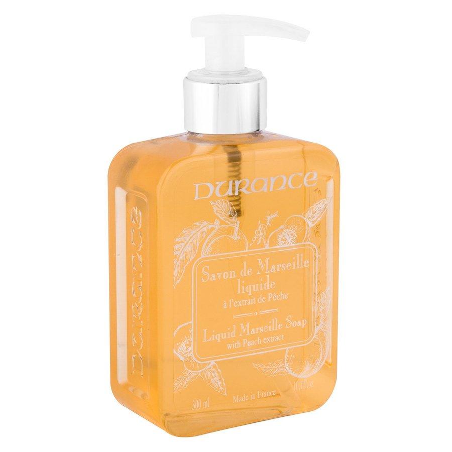 Durance Liquid Marseille Soap With Peach And Basil (300 ml)