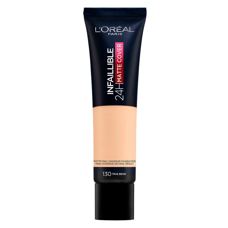 L'Oréal Paris Infaillible 24H Matte Cover 130 True Beige (30 ml)