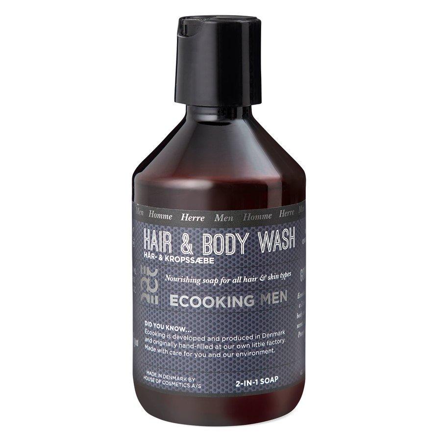 Ecooking Men Hair & Body Wash 250ml
