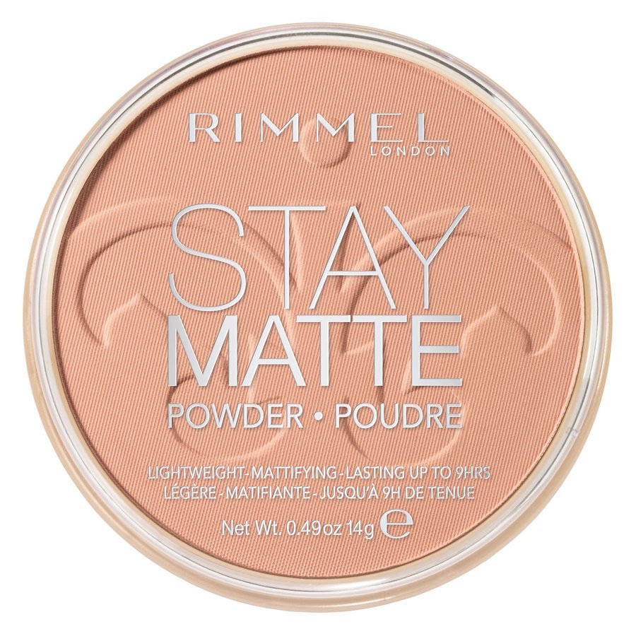 Rimmel Stay Matte Pressed Face Powder, Cashmere 008 (14 g)