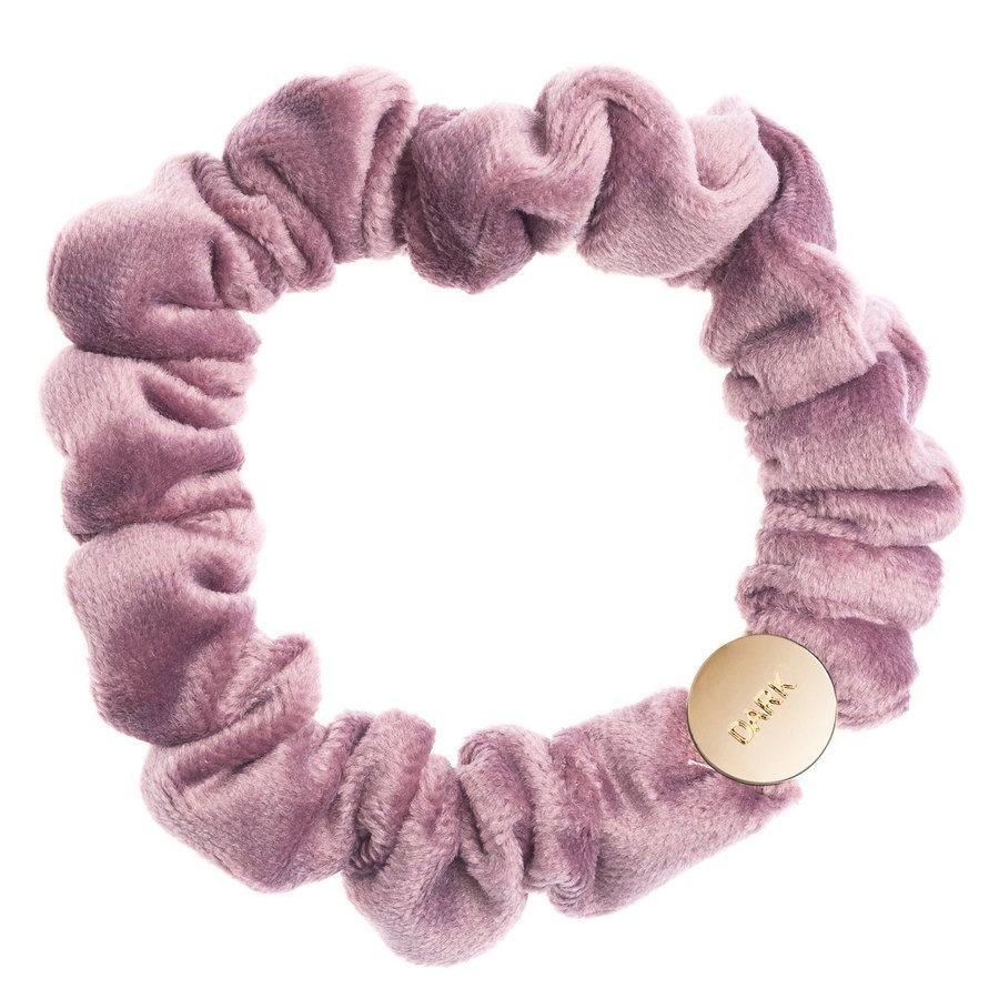 DARK Velvet Mini Scrunchie Dusty Grape