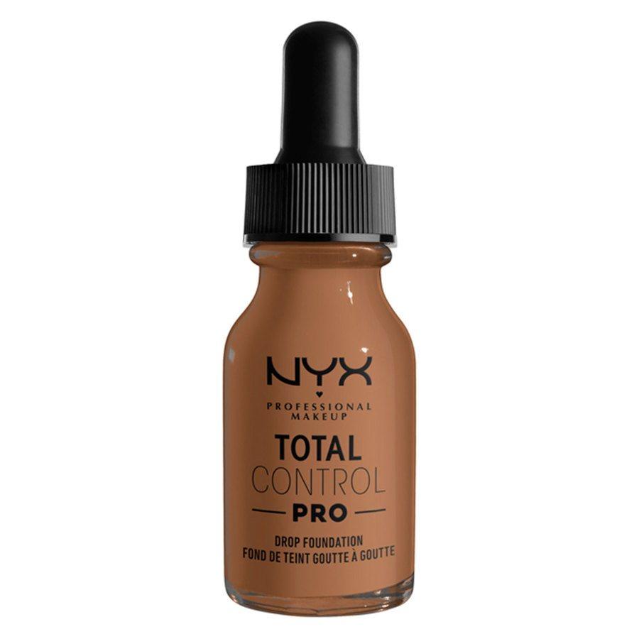 NYX Professional Makeup Total Control Pro Drop Foundation 13ml, Mahogany