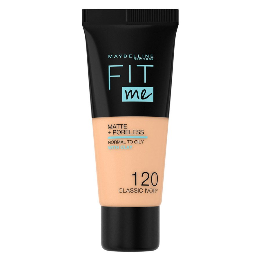 Maybelline Fit Me Liquid Foundation Classic Ivory 120 Normal To Oily (30 ml)