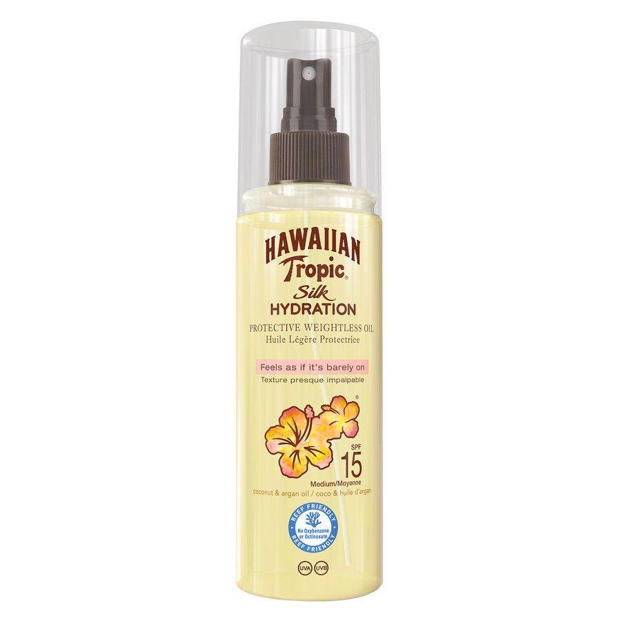 Hawaiian Tropic Silk Hydration Dry Oil Mist SPF15 150ml