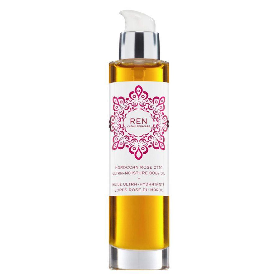REN Clean Skincare Moroccan Rose Otto Body Ultra-Moisture Body Oil (100 ml)
