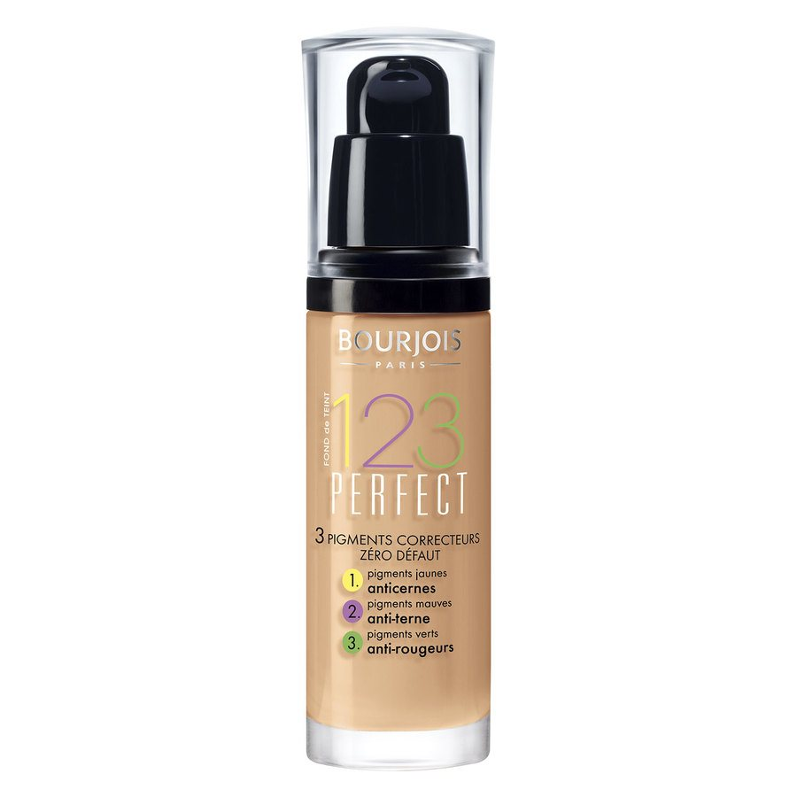 Bourjois 1,2,3 Perfect Foundation 55 Rose Beige (30 ml)