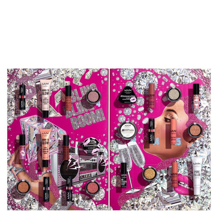 NYX Professional Makeup Xmas Diamonds & Ice Kalendarz adwentowy 2020