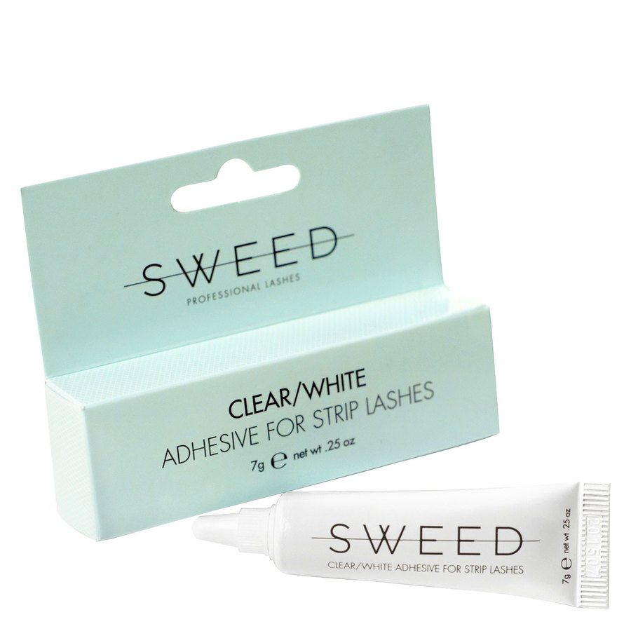 Sweed Lashes Clear / White Adhesive 7 g