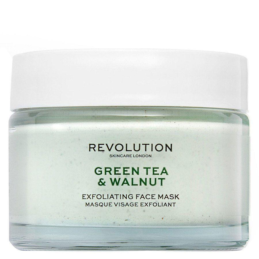 Revolution Skincare Green Tea & Walnut Exfoliating Face Mask 50ml