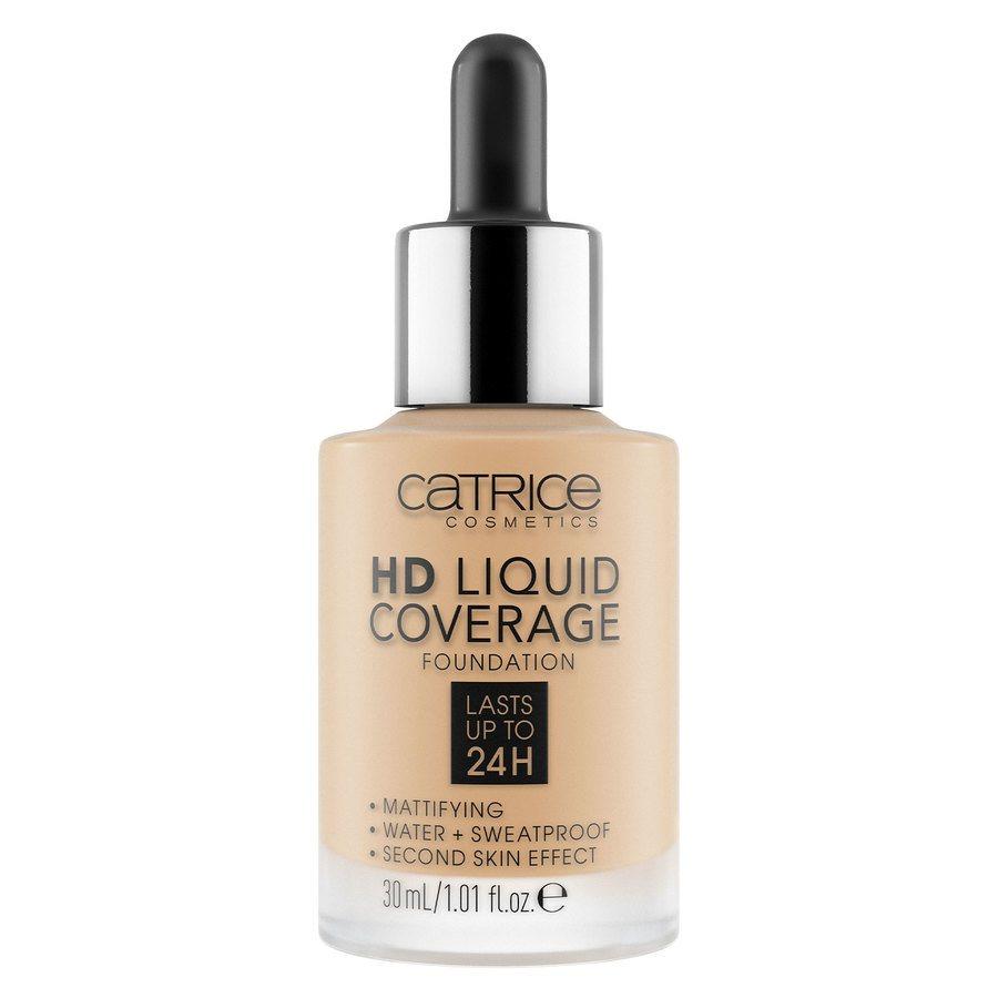 Catrice HD Liquid Coverage Foundation 30ml, 038 Honey Beige