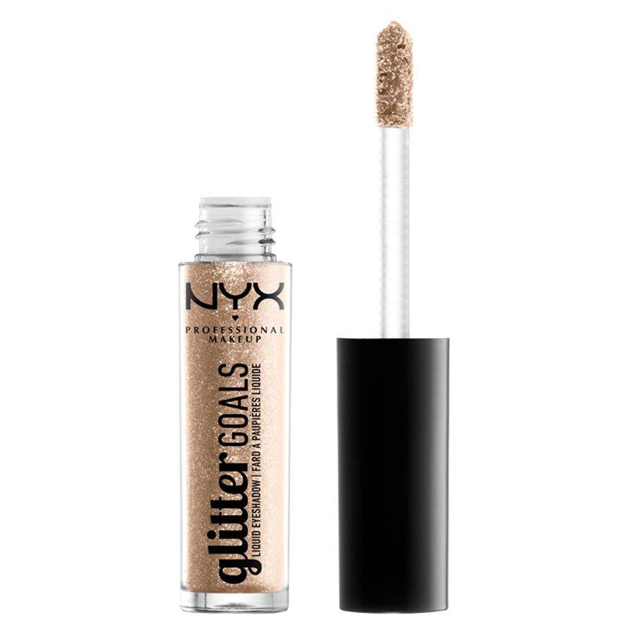 NYX Professional Makeup Glitter Goals Liquid Eyeshadow Polished Pin Up (3,5 g)