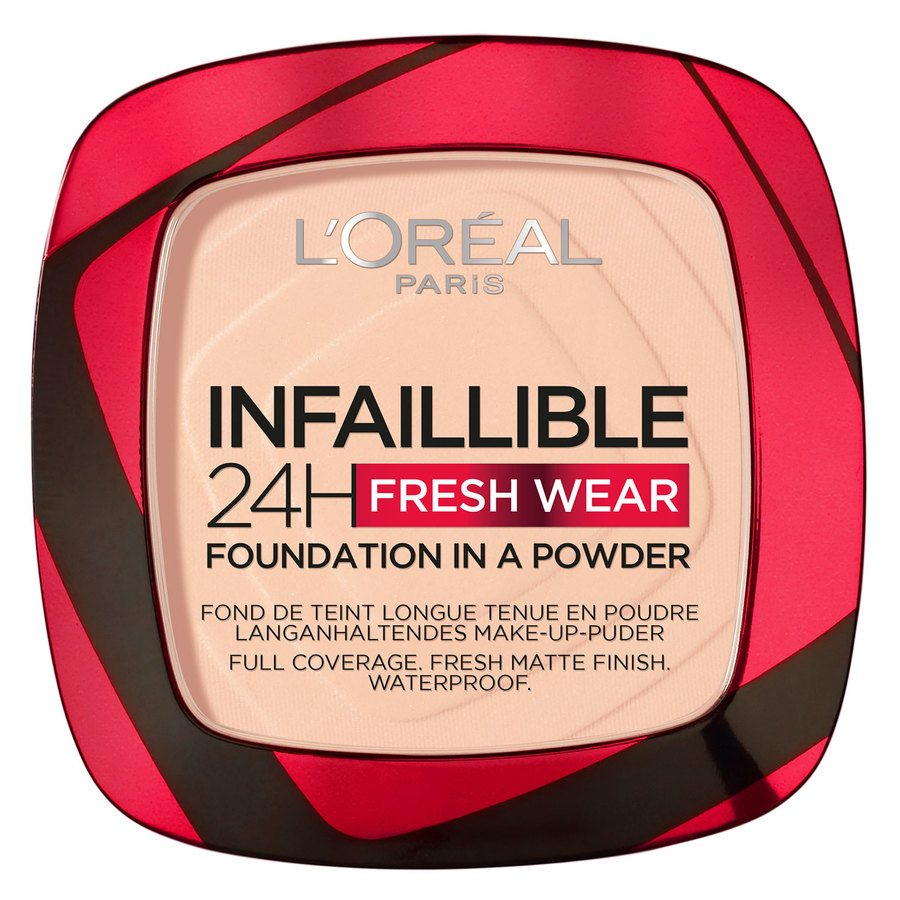 L'Oréal Paris Infallible 24H Fresh Wear Foundation In A Powder Rose Sand 9 g