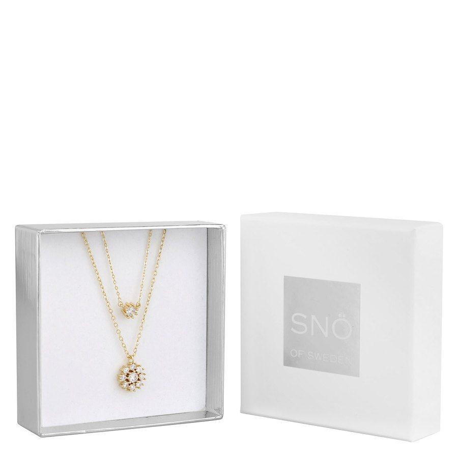 Snö of Sweden Crystal Vintage Neck Set 1 – Gold / Clear