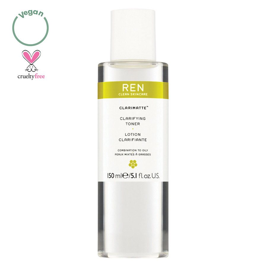 REN Clean Skincare Clarimatte Clarifying Toning Lotion (150 ml)