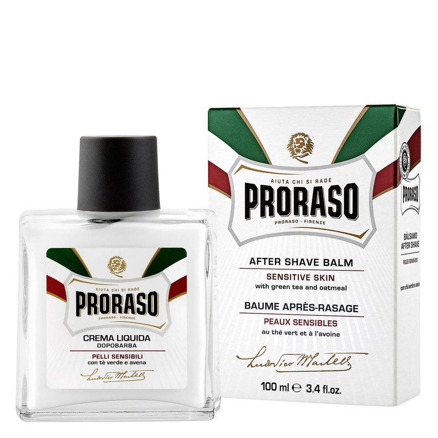 Proraso Liquid After Shave Cream Green Tea And Oatmeal (100 ml)