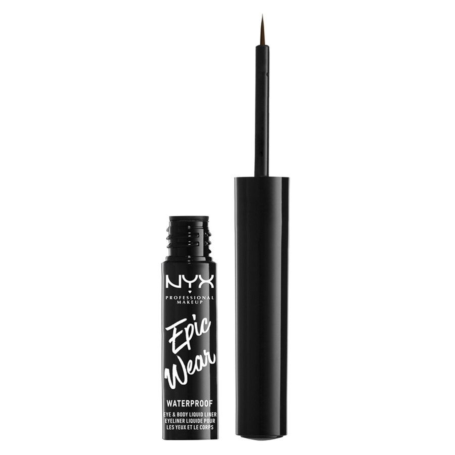 NYX Professional Makeup Epic Wear Semi Peranent Eye & Body Liquid Liner Brown (1 ml)