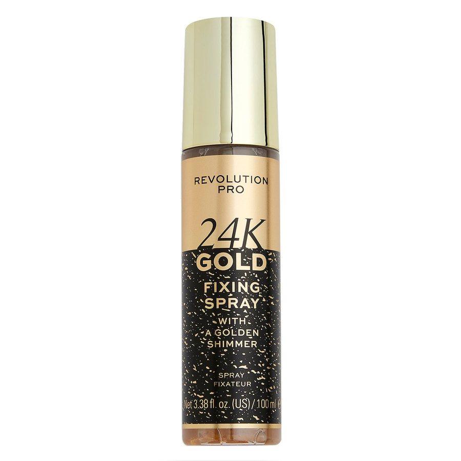 Makeup Revolution Pro 24K Gold Setting Spray (100 ml)