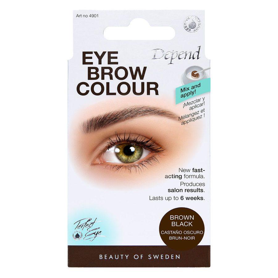 Depend Eyebrow Colour, Brown black