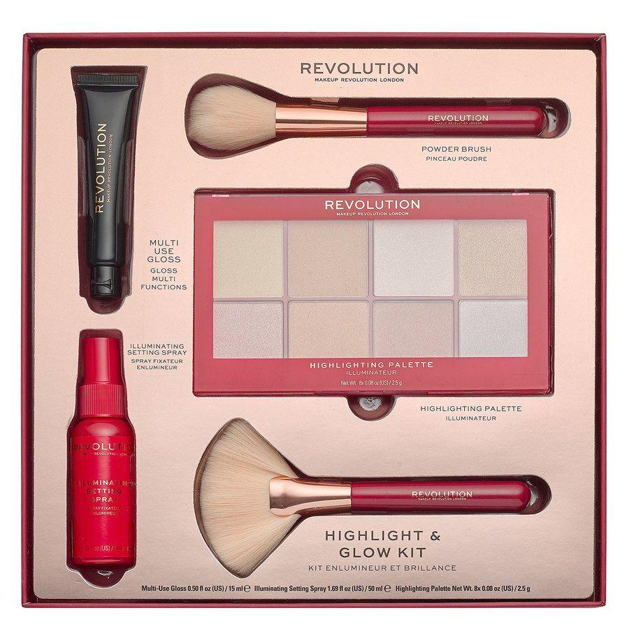 Zestaw upominkowy Makeup Revolution Highlight & Glow