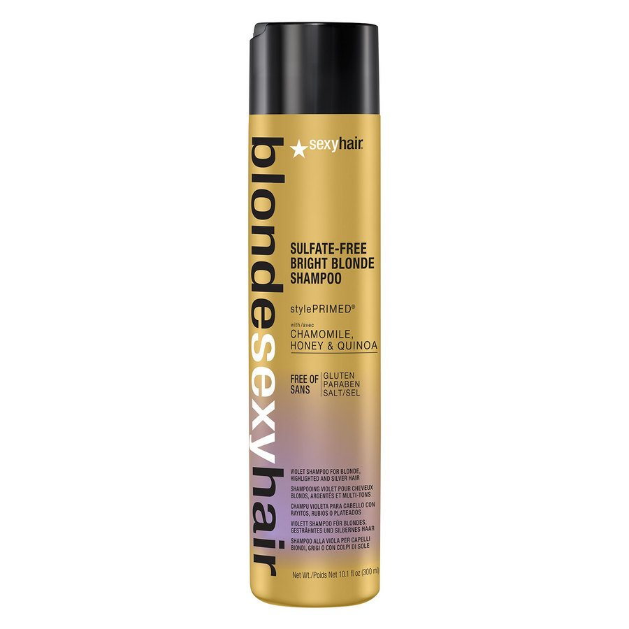 Sexy Hair Bright Blonde Szampon (300 ml)