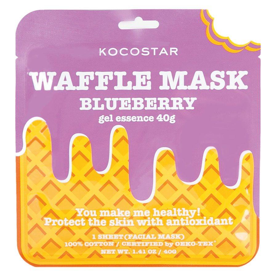 Kocostar Waffle Mask Blueberry (40 g)