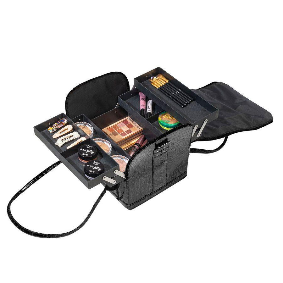 Shelas Makeup Case Black