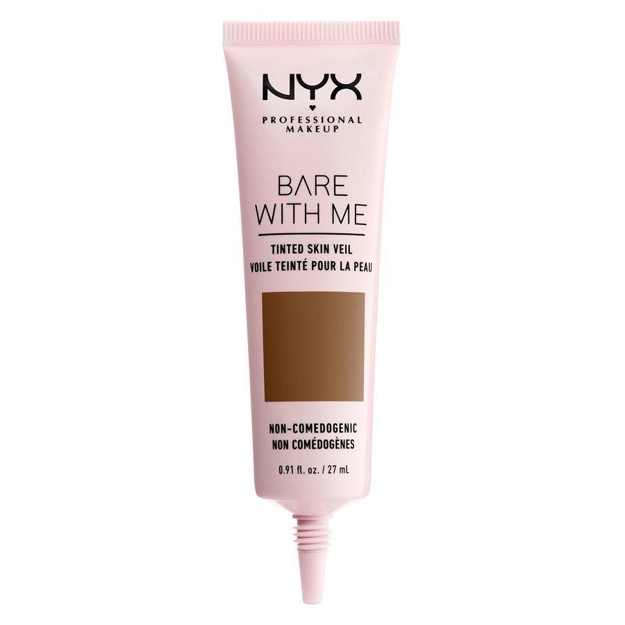 NYX Professional Makeup Bare With Me Tinted Skin Veil (27 ml), Deep Sable