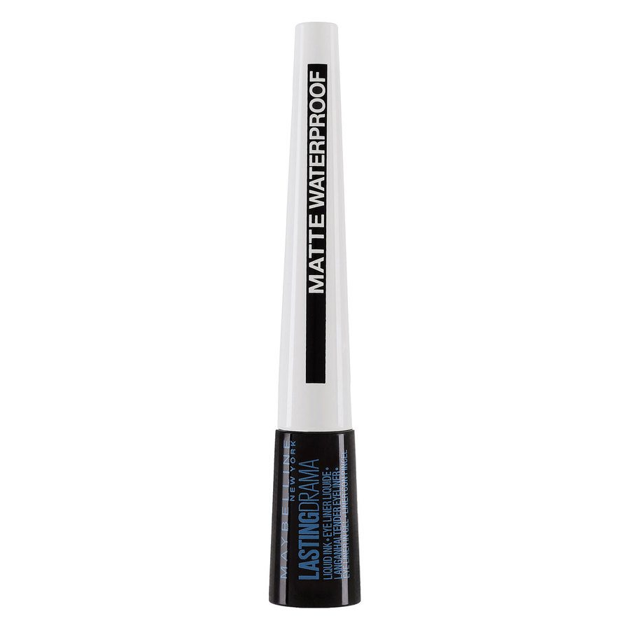 Maybelline Lasting Drama Liquid Ink Liner Matte Waterproof (2,5 ml), Black