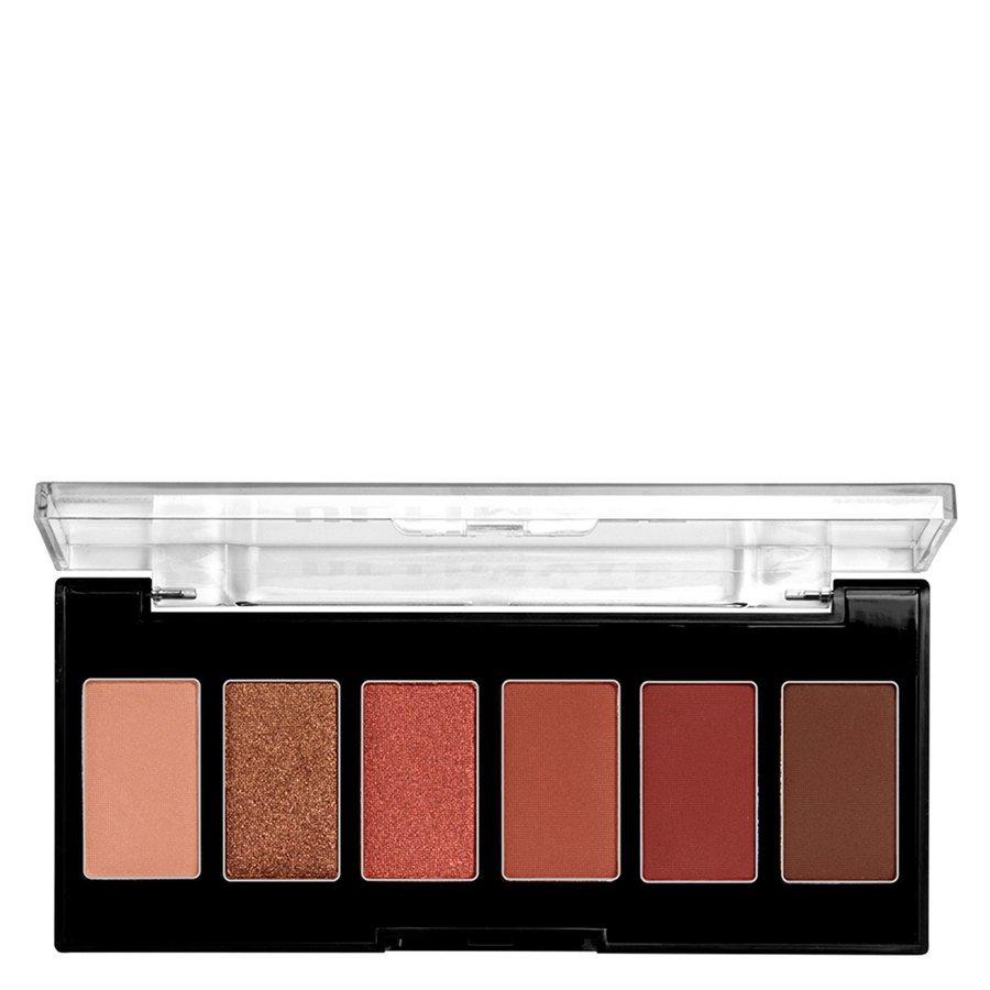 NYX Professional Makeup Ultimate Edit Petite Shadow Palette (7.2 g), 01 Warm Neutrals
