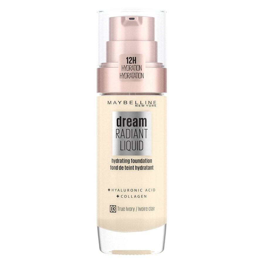 Maybelline Dream Radiant Liquid Foundation #3 True Ivory 30ml