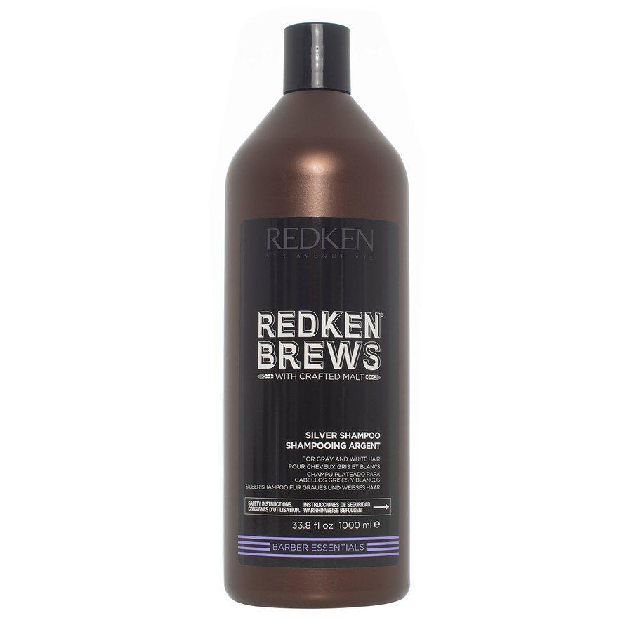 Redken Brews Silver Szampon (1000 ml)