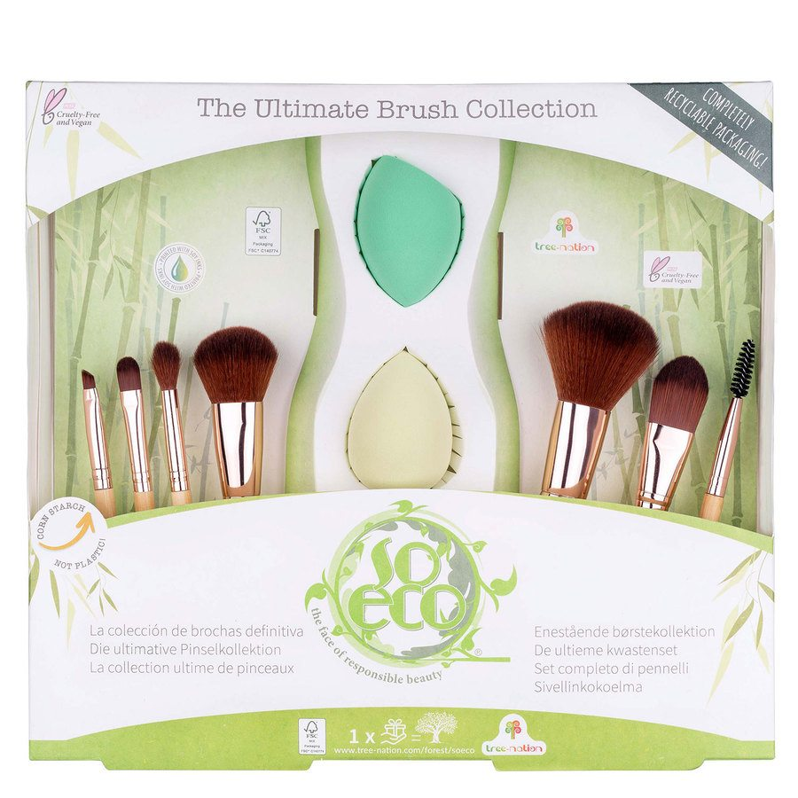 So Eco Ultimate Brush Collection 9 elementów