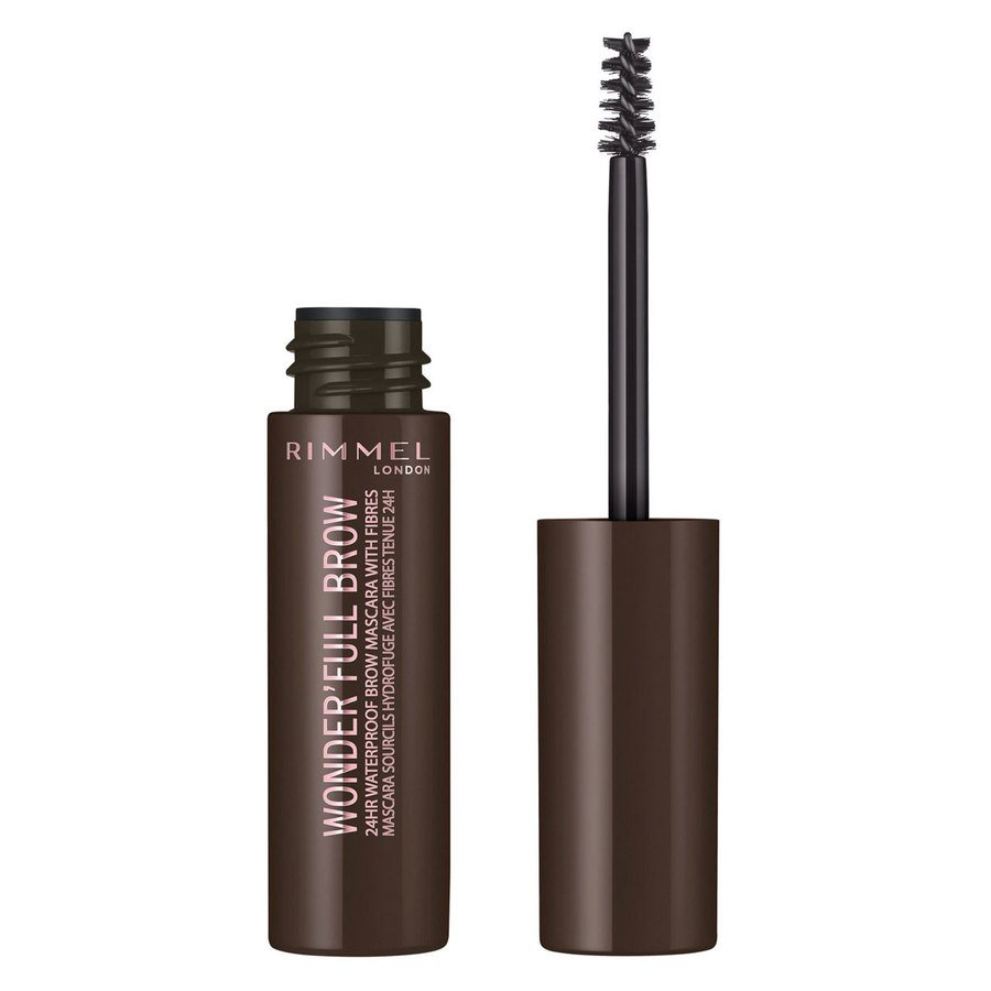 Rimmel London Eye Wonder'Full Brow Mascara 24H (5 ml), # 003 Dark
