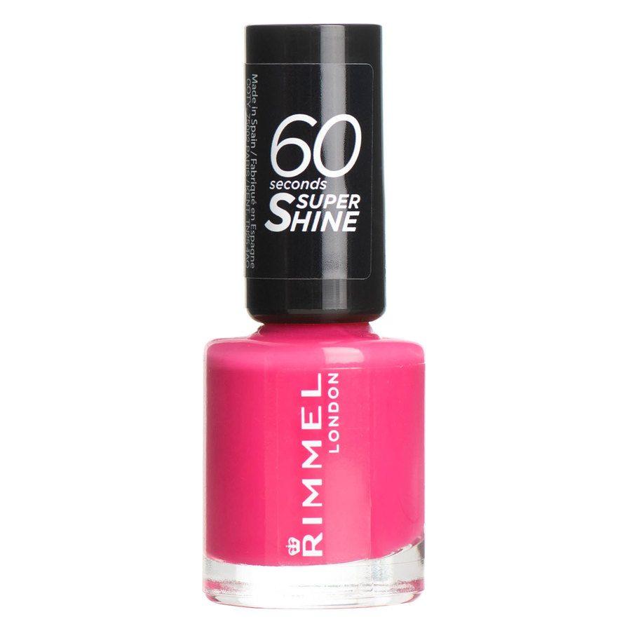 Rimmel London 60 Seconds Super Shine Nail Polish (8 ml), # 322 Neon Fe